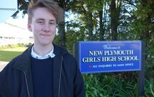 Transgender student Theo Cook is calling for pants to be included in the official uniform at New Plymouth Girls' High School.