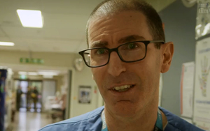Dr Scott Pearson, Emergency Department clinical director.