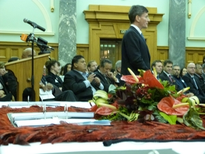 Minister for Treaty of Waitangi Negotiations Christopher Finlayson.