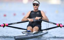 Single sculler Mahe Drysdale has secured himself a place in the final.