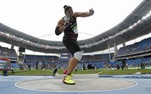 Valerie Adams topped the field in the Women's Shot Put Qualifying Round in Rio.