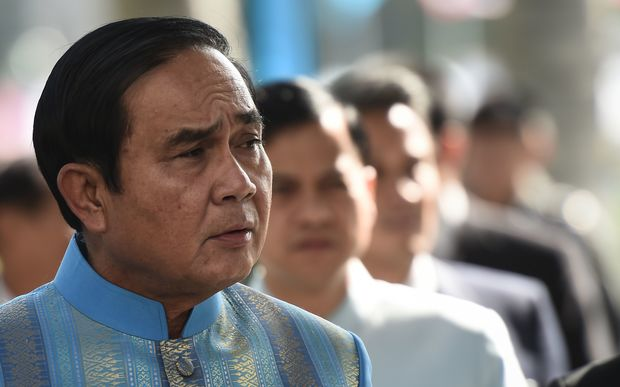 Thailand Prime Minister Prayuth Chan-Ocha was army chief before being sworn in as Prime Minister in 2014.