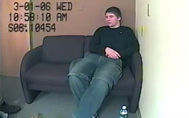 Brendan Dassey in a police interview that was featured in the Making A Murderer documentary.