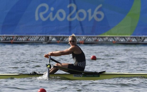 Emma Twigg came fourth in the women's single sculls final.