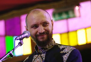 Dakhabrakha's village intellectual Marko Halanevych -
