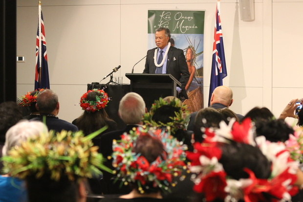 The Prime Minister of the Cook Islands, Henry Puna announces the country's candidacy for a seat on UNESCO