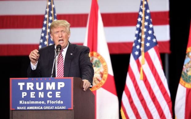 Trump reveals few details on