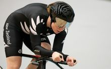 New Zealand track cyclist Lauren Ellis.