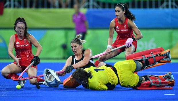 New Zealand's Black Sticks women play Great Britain in the Olympics semi-final.