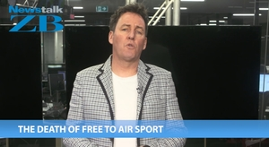 Mike Hosking says free to air TV sport is dead.