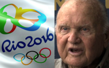 At 94 years old, American man Harry Nelson looks to have just beaten his own world record in Rio - for attending the most summer Olympic Games in history.