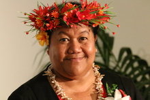 The Niue High Commissioner to New Zealand O'Love Jacobsen.