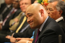The Minister for Pacific Peoples Peseta Sam Lotu-Iiga
