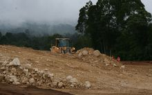ExxonMobil's LNG Project cuts a swathe of development through Hela province in PNG's Highlands.