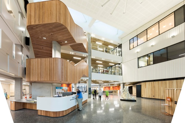 The revamped Burwood Hospital in Christchurch