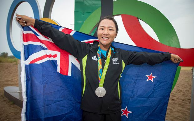 Lydia Ko has become New Zealand's youngest female medal winner at an Olympic Games.
