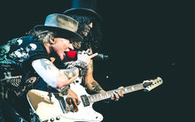 Axl Rose and Slash are bringing their Not In This Lifetime tour to New Zealand.