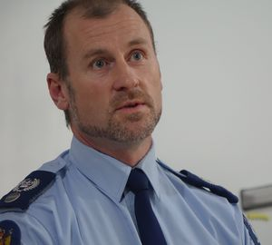 Senior Sergeant Thomas McIntyre, New Plymouth.