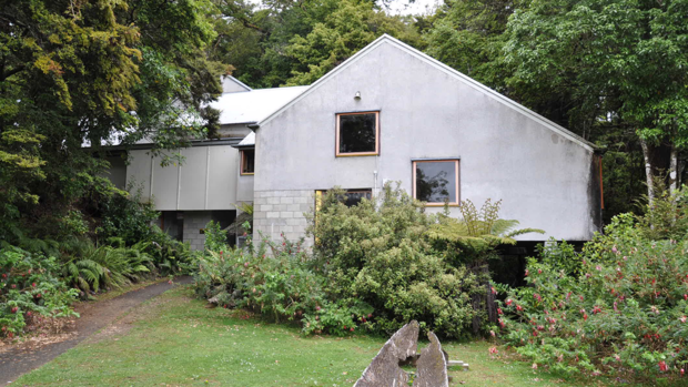The visitors' centre at Te Urewera was built in 1976 and designed by the late John Scott, who is best known for the Futuna Chapel in Wellington.