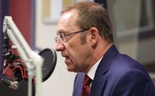 Andrew Little talks to Morning Report in RNZ's Wellington studio.