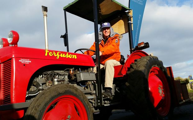 Tractor fundraiser for Sir Ed's hut rolls out on 2000km