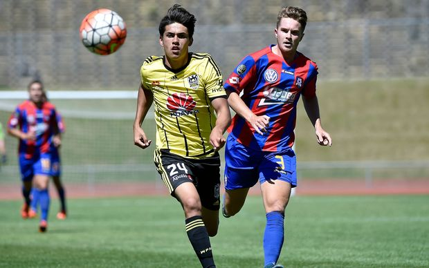 Wellington Phoenix striker Logan Rogerson will lead the line for the New Zealand Under 20s.