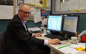 Dr Ken Romeril of the Wellington Blood and Cancer Centre at Wellington Hospital.