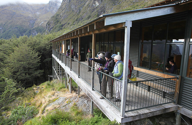 Falls Hut, Routeburn Track, New Zealand