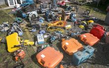 Stolen construction materials and tools have been recovered by police in Hastings.
