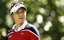 Lydia Ko at the Canadian Open, 2016.