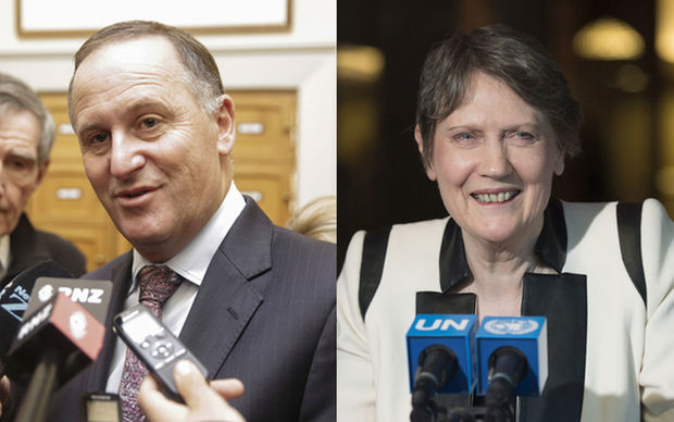 John Key says New Zealand is not pulling its punches just to try to support Helen Clark's bid for the UN Secretary General position.