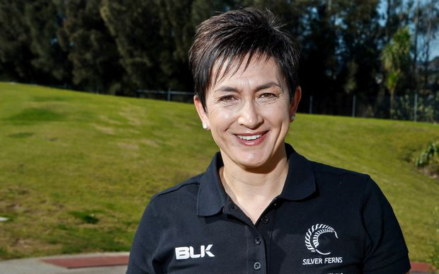 Silver Ferns assistant coach Yvette McCausland-Durie