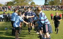 7 May 2003. 1st XV Rugby. Sacred Heart College v Kings College. Sacred Heart College, Glenn Innes, Auckland.
