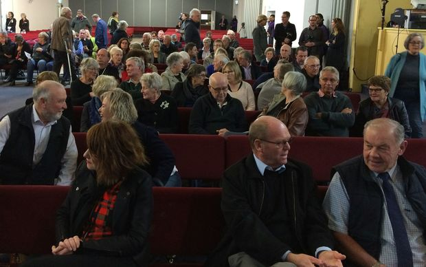 A public meeting on the Havelock North water emergency is under way, as new figures show even more people got the campylobacter infection than previously thought.