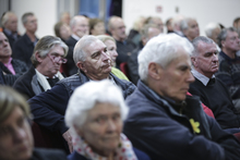 Havelock North public meeting over the contamination of the bores that supply Havelock North's water.