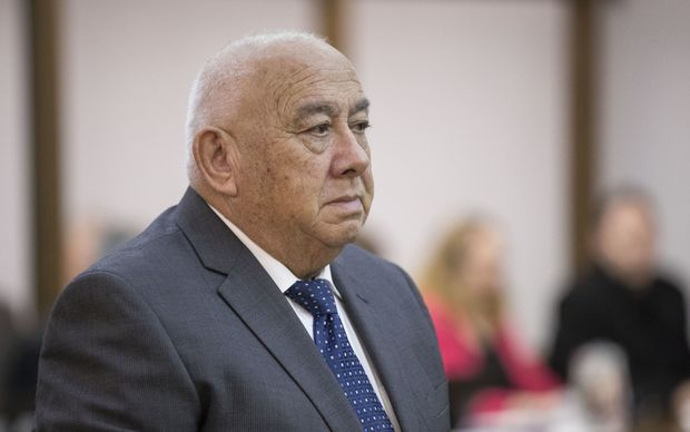 Prominent Māori leader Sir Ngatata Love is found guilty of fraud in the High Court in Wellington.