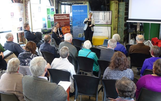 The first of eight public meetings about the south Dunedin flooding was held today.
