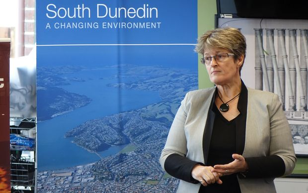 Dunedin City Council chief executive Sue Bidrose