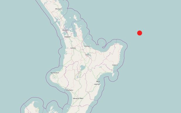 A 7.1 earthquake has hit northeast of Gisborne, and residents have been urged to evacuate to higher ground.