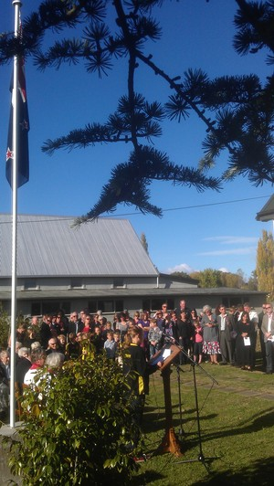 Anzac Day at Elsthorpe.
