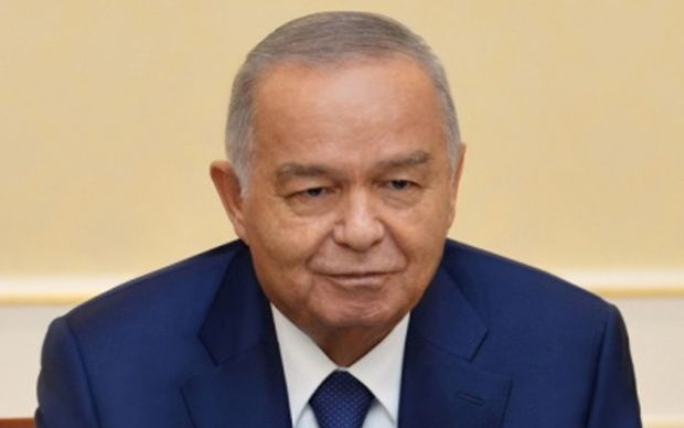 Uzbekistan president Islam Karimov, seen here in a visit to the US this year. His death was announced on Friday.