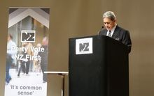 Winston Peters said the first offence for about 60 percent of young Māori who commit crime was driving without a licence.
