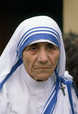 Mother Teresa, who died in 1997.