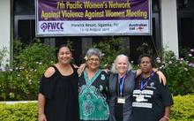 The Pacific Women's Network Against Violence Against Women met earlier this month in Fiji.
