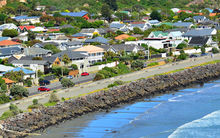 The Christchurch seaside suburb of Sumner.