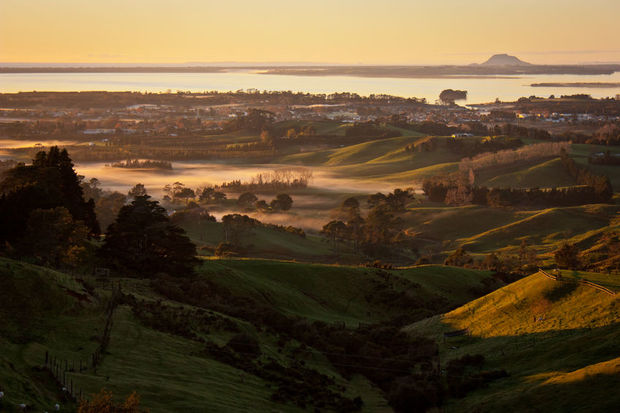 The Western Bay of Plenty town of Katikati is just two and a half hours drive from Auckland - but here $650,000 can buy you a four bedroom home with a garden.