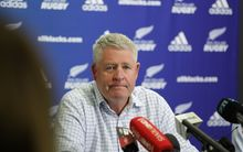 NZ Rugby head Steve Tew