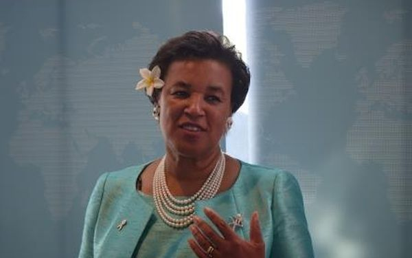 The Commonwealth Secretary-General, Patricia Scotland
