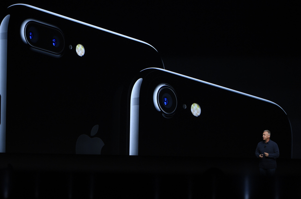Apple's Phil Schiller launches the iPhone 7