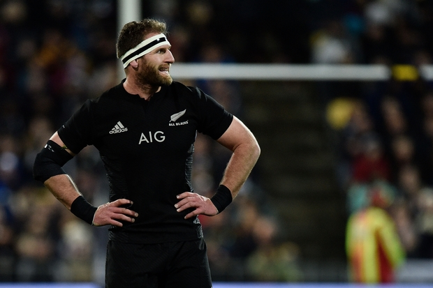 All Blacks captain Kieran Read during All Blacks win against Australia, August 27 2016